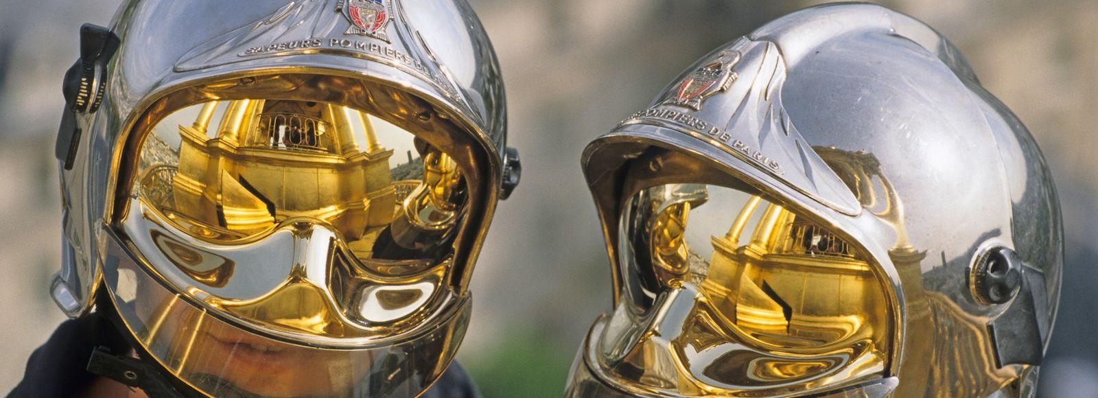 casques-pompiers